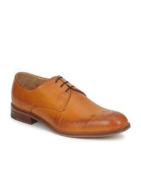 Ben Sherman Plyn Derby Camel Leather Smart Formal Shoes