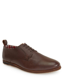 Ben Sherman Brighton Leather Plain Toe Derby