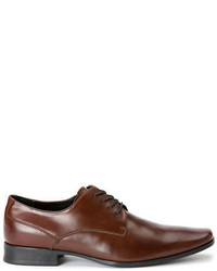 Calvin Klein Brodie Leather Plain Toe Oxfords