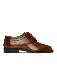 Maison Margiela Brown Tabi Derbys
