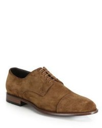 Hugo Boss Calf Leather Suede Derby Shoes
