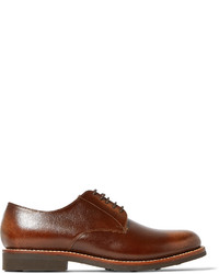 Grenson Curtis Burnished Full Grain Leather Derby Shoes