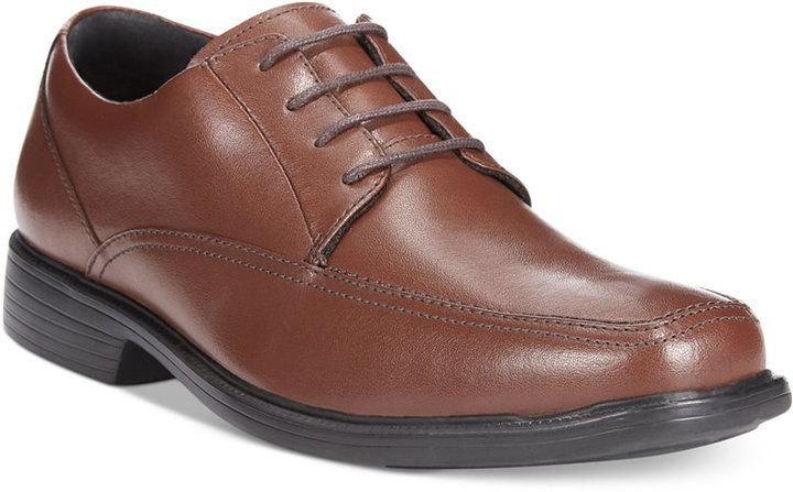 ... Leather Derby Shoes Bostonian Kopper Max Oxfords ...