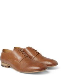 Maison Martin Margiela Laser Cut Leather Derby Shoes