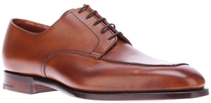 Crockett Jones Leeds Apron Derby Shoe