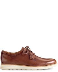 Cole Haan Lunargrand Leather Plain Toe Oxfords