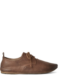 Marsèll Marsell Washed Leather Derby Shoes