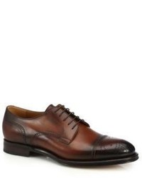 Gucci Perforated Leather Derby Shoes