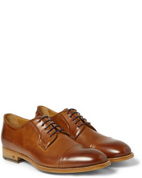 Paul Smith Shoes Accessories Ernest Burnished Leather Derby Shoes