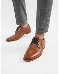 Pier One Smart Shoes In Brown Leather