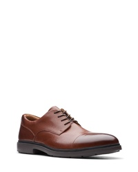 Clarks Un Tailor Cap Toe Derby