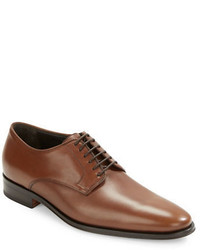 Bruno Magli Werter Leather Lace Up Derby Shoes