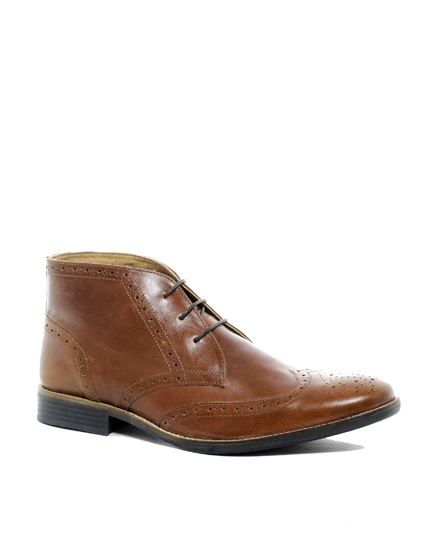 asos chukka boots in leather where to buy how to wear