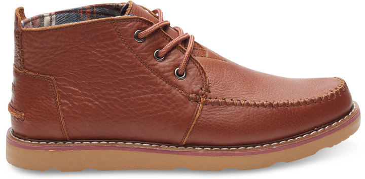 TOMS Leather Chukka Boot inZa9e2X