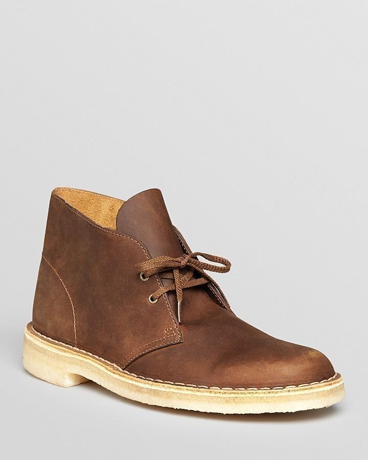 brown leather desert boots clarks original leather desert