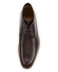 Thomas Dean Crepe Sole Desert Boot Brown