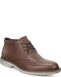 ... Ecco Ian Chukka Boot Bison Leather Boots