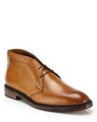 Ralph Lauren Saunders Leather Chukka Boots