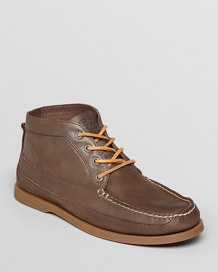 Sperry Top Sider Ao Boat Leather Chukka