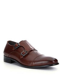 Kenneth Cole Reaction Ave Nue Cap Toe Monk Strap Loafers