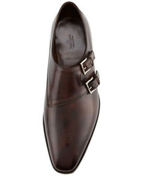 John Lobb Chapel Double Monk Strap Shoe