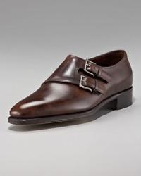 John Lobb Chapel Double Monk Strap Shoe