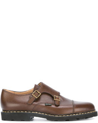Paraboot Double Buckle Monk Shoes