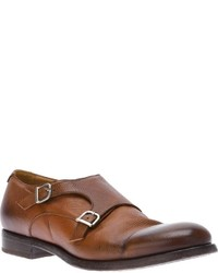 Doucal's Double Monk Strap Shoe