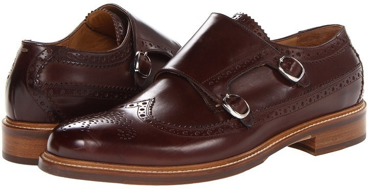 Cole Haan Ellwood Double Monk Footwear