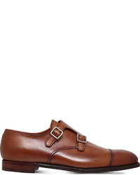 George Cleverley Thomas Leather Double Monk Shoes