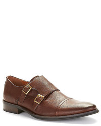 Black Brown 1826 Helodias Double Monk Strap Brogues