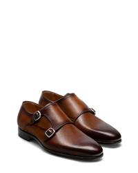 Magnanni Lisbon Double Monk Shoe