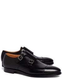 Brooks Brothers Peal Co Double Monk Strap Shoes