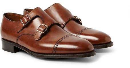 John Lobb Phillip Ii Leather Monk Strap