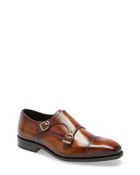 Ike Behar Regal Double Monk Shoe