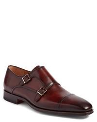 Magnanni Silvio Double Monk Strap Shoe