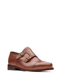 Bostonian Somerville Mix Double Monk Shoe