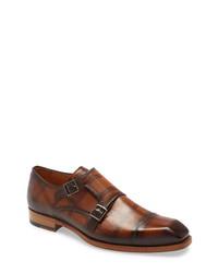 Mezlan Valkyrie Double Monk Shoe