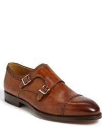 Magnanni Villar Ii Double Monk Strap Shoe