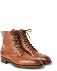 Brown Leather Dress Boots