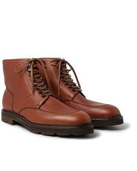 John Lobb Helston Full Grain Leather Boots