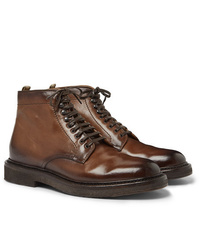 Officine Creative Stanford Burnished Leather Boot