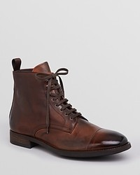 To Boot New York Stallworth Cap Toe Lace Up Boots