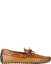 Tod's New Gommini 122 Tie Drivers Brown