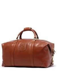 Cavalier ii leather duffel bag brown medium 609301
