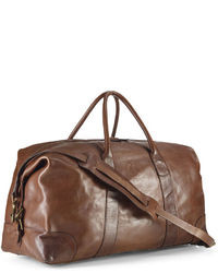 6cab25205b Men s Brown Leather Duffle Bags by Polo Ralph Lauren