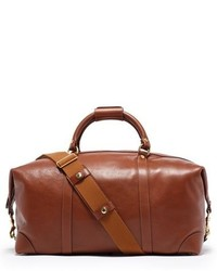 van halen right now - Polo Ralph Lauren Leather Duffel Bag | Where to buy & how to wear