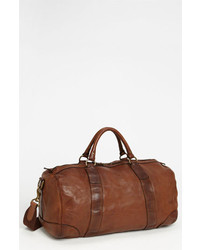 Polo Ralph Lauren Leather Gym Bag Brown One Size
