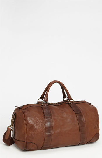 7e25d9293 Polo Ralph Lauren Leather Gym Bag Brown One Size, $498 | Nordstrom ...