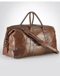 Ralph Lauren Polo Core Leather Duffle Bag